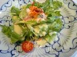 「4種類の豆を使ったシーザーサラダ」煉(福岡市)