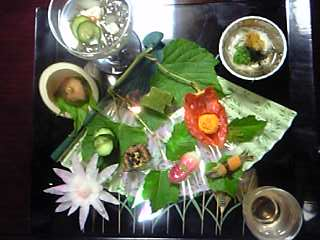 「前菜(8/11)」酒泉の杜 綾陽亭(宮崎県・綾町)