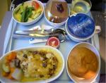「機内食」シンガポール航空(シンガポール→デンパサール)