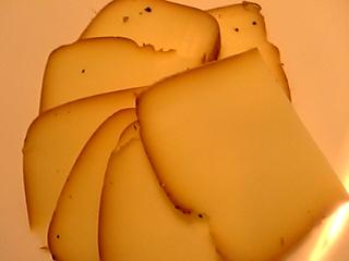「手づくりスモークチーズ」