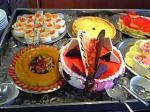 「バレンタインデーのケーキ」サンレイ号(ナイル川クルーズ)