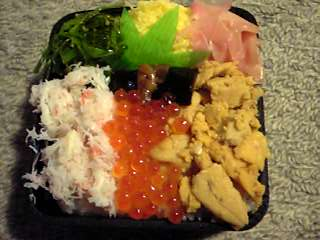 「海鮮寿司」多聞天(北海道)
