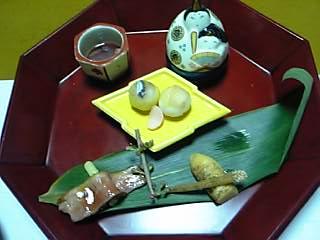 「前菜」山荘天水(天ヶ瀬温泉)