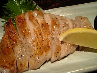 「豚トロ塩焼き」雄屋わさび(福岡市)
