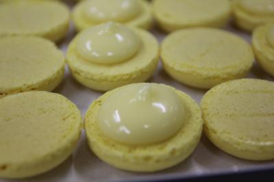 macaron citron et miel
