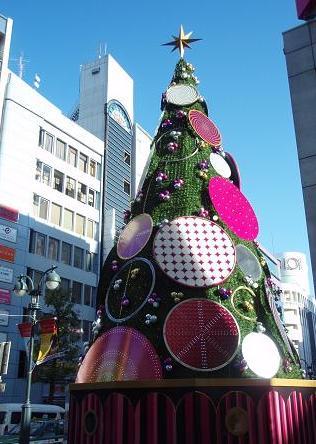 """""""渋谷パルコ前のツリー"""""""