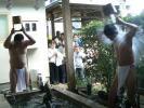 荒行僧の水行式