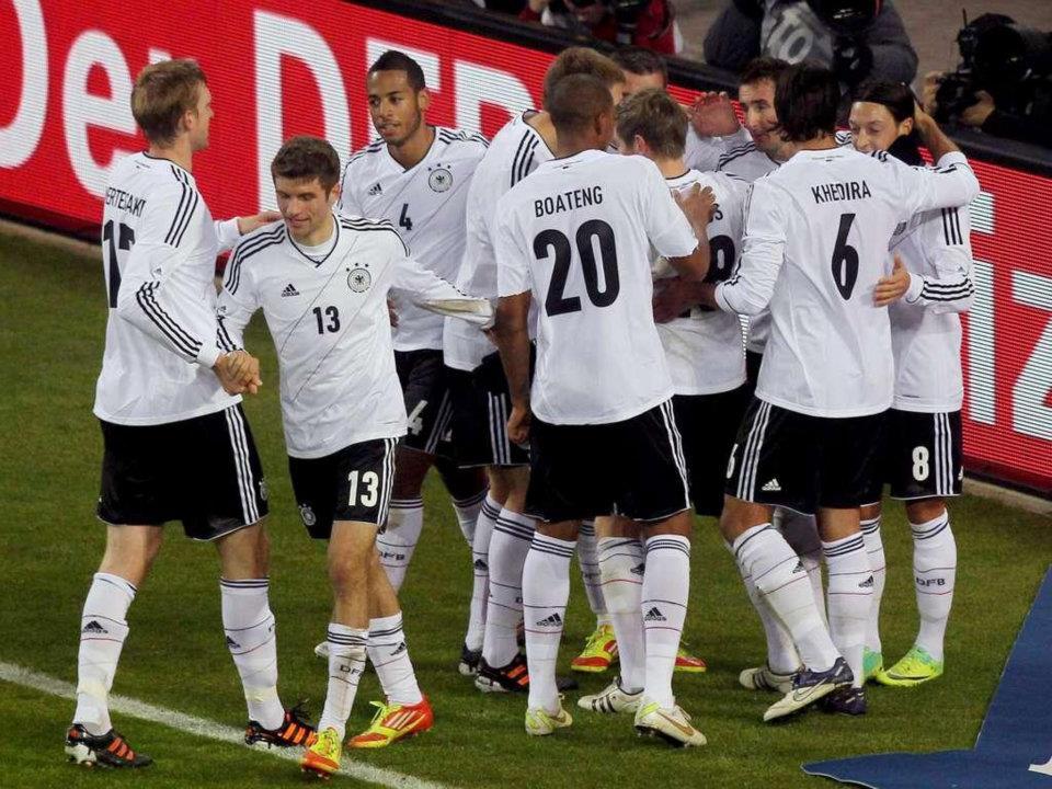 ドイツ代表!勝利!!