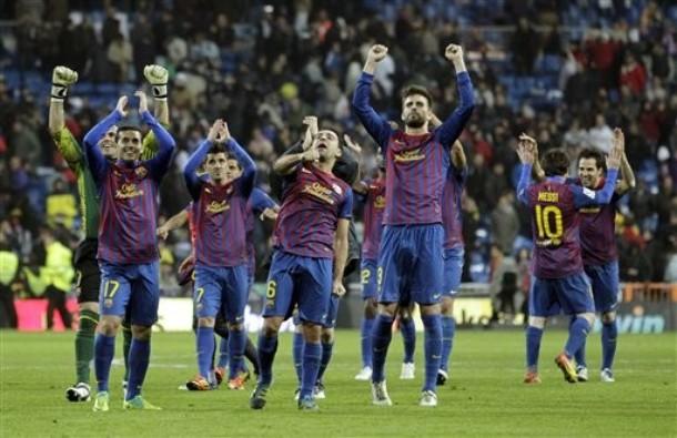 バルセロナ勝利。