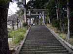 伊豆山神社石段