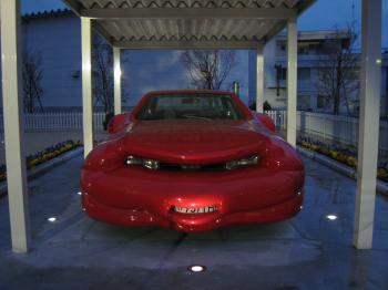 十和田美術館 いじわる車