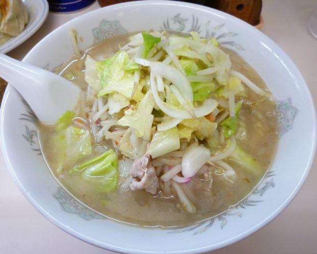 『長崎ちゃんぽん 友楽』チャンポン餃子セットの長崎チャンポン(単品は735円)