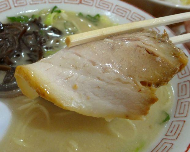 『ぎょらん亭 八幡店』とんこつラーメン・豚骨十割(チャーシュー)