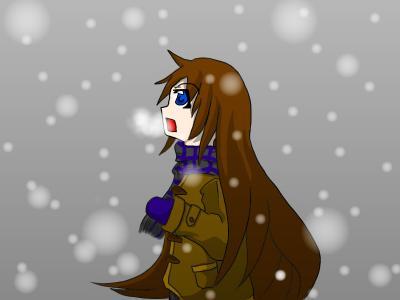 オリジナル_雪降り