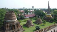 ワットチャイモンコン 佛塔からの眺め
