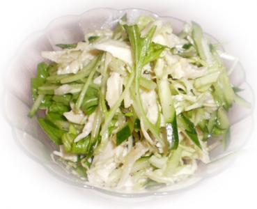 塩鶏のサラダ