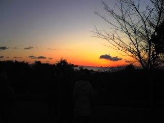 日の出寸前