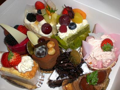 バースデーケーキたち