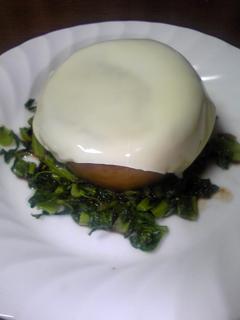 チーズオン 大根ステーキ