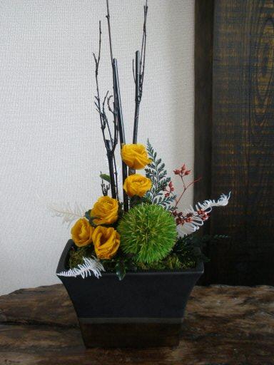プリザーブドフラワー加工 アレンジ 香川県