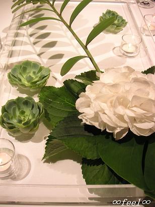 wedding花