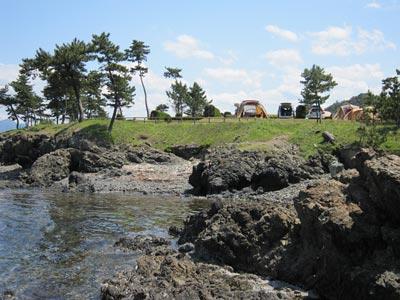赤礁埼オートキャンプ場