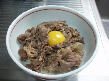吉野家牛丼風牛丼