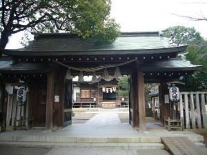 20080304葛飾八幡宮 帝釈天1