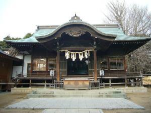20080304葛飾八幡宮 帝釈天2