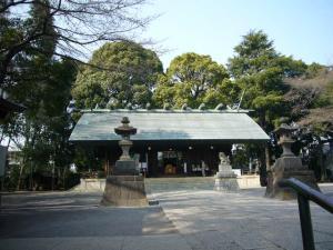 所沢神明社、田無神社、井草八幡他12