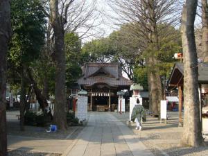 所沢神明社、田無神社、井草八幡他16