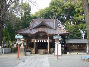 所沢神明社、田無神社、井草八幡他19