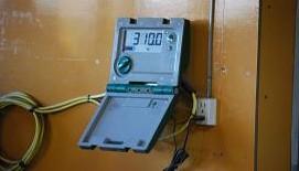 2・1歳体重測定・測定器