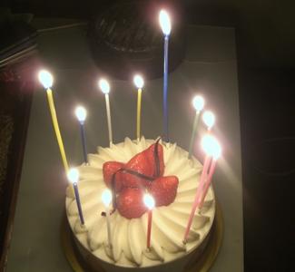 鬼のかーちゃんの誕生日でした あはは