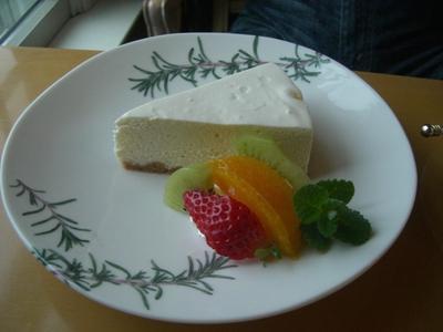 22.4.1レアチーズケーキ