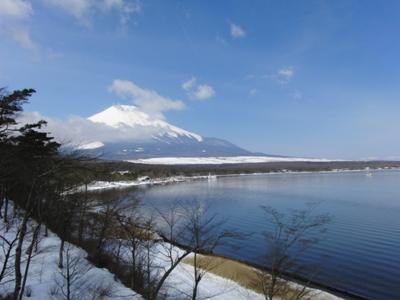 22.4.18富士山&山中湖