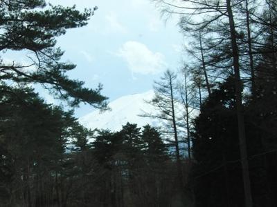 22.4.18 富士山がみえるでつよ