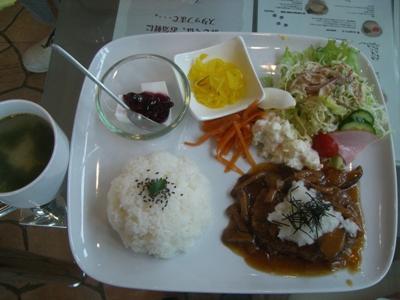 22.5.23 きぃの和風ハンバーグプレート