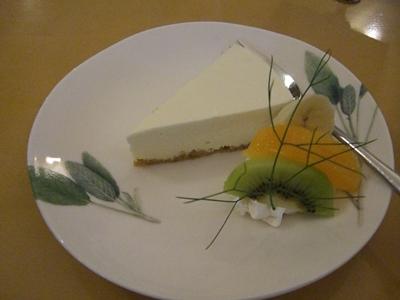 22.6.27 きぃのレアチーズケーキ