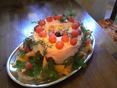 2010.7.4 素敵なケーキですね