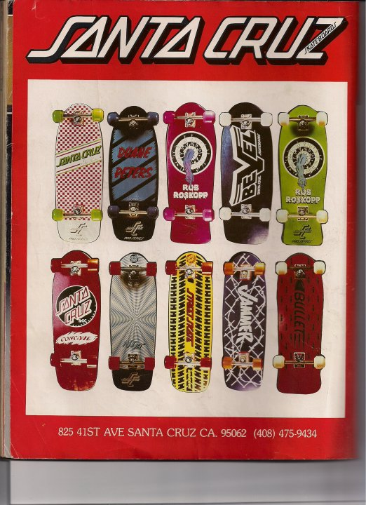 santa cruz old decks