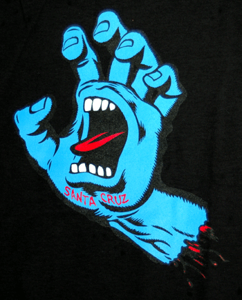 santa cruz Screaminghand-tee