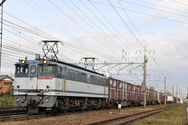 1653レ EF65-1138号機