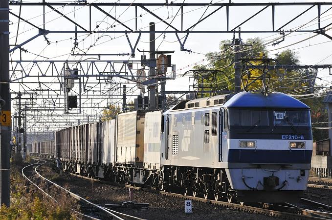 1057レ EF210-6号機