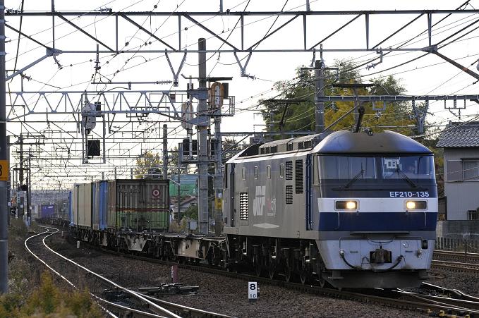 1071レ EF210-135号機