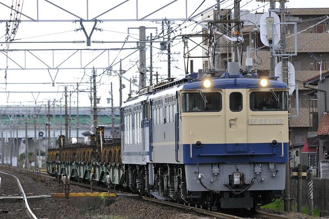 8865レ EF65-1129号機