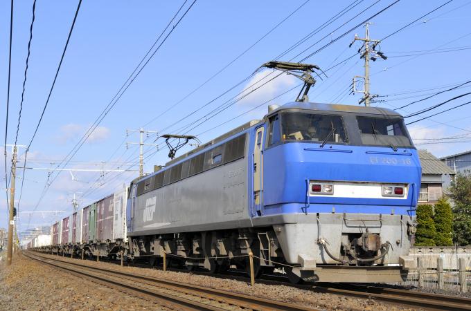 臨8056レ EF200-16号機