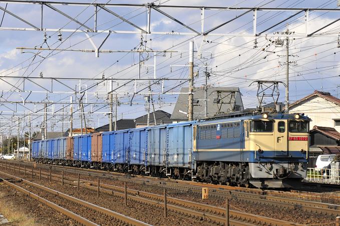 3460レ EF65-1072号機