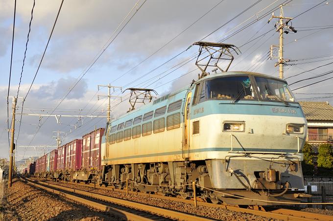 1072レ EF66-116号機