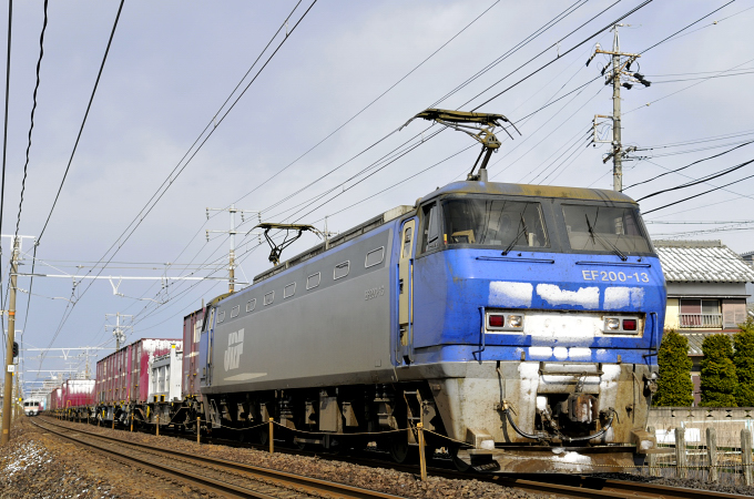 臨8056レ EF200-13号機